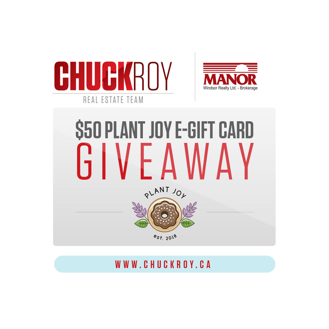 Enter to WIN a $50 e-gift card for Plant Joy!