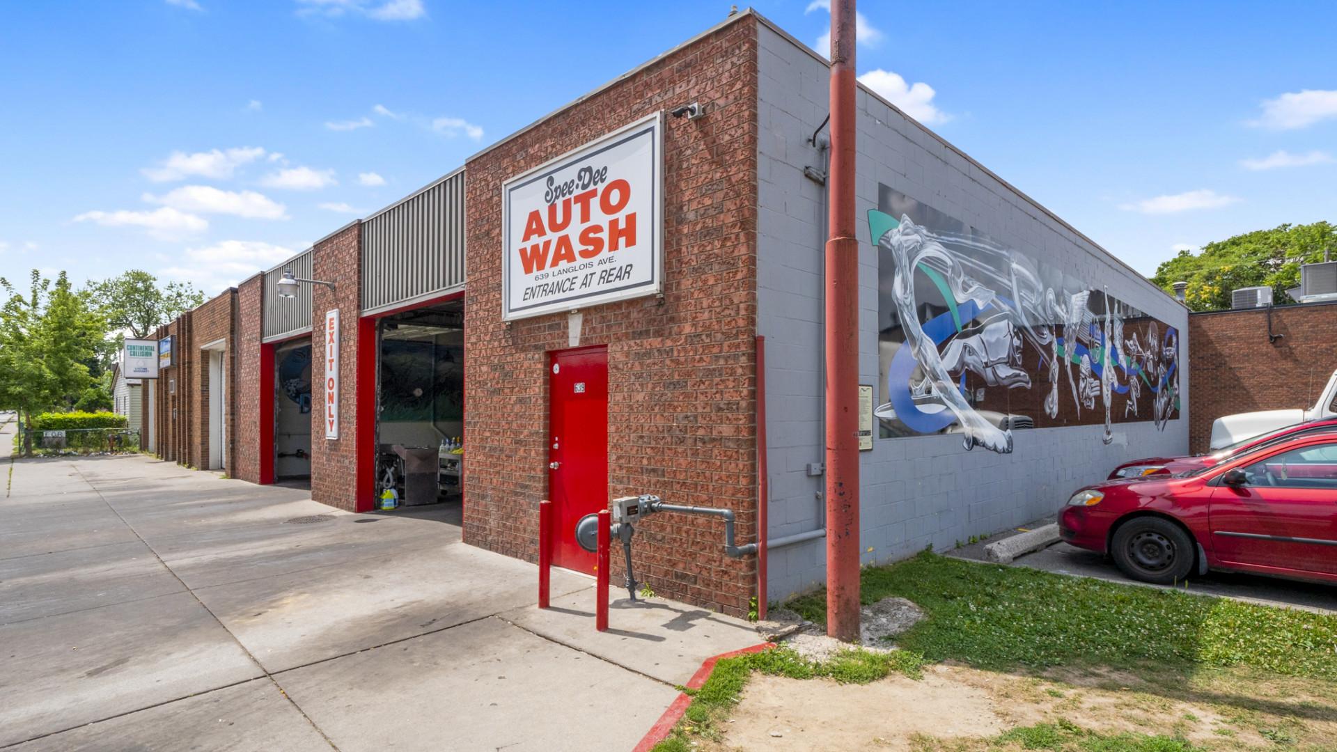 Car Wash For Sale | 639 Langlois, Windsor | $849,900